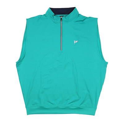 New W/ Logo Mens Footjoy Vest X-Large XL Green MSRP $85 27288