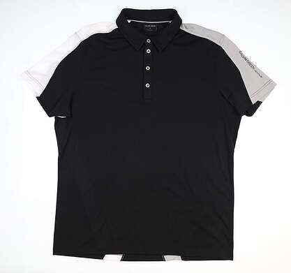 New Mens Galvin Green Golf Polo X-Large XL Black MSRP $89