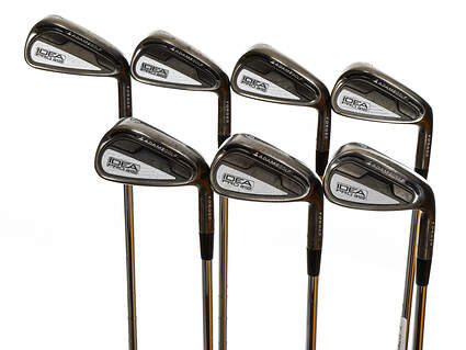Adams Idea Pro A12 Iron Set 4-PW FST KBS Tour Steel Stiff Right Handed 38.0in