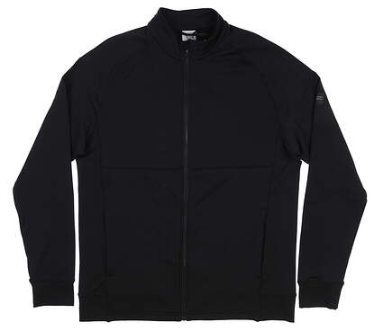 New Mens Level Wear Golf Jacket Medium M Black MSRP $100 JT57L