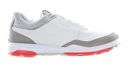 New Mens Golf Shoe Ecco BIOM Hybrid 3 43 (9-9.5) Extra Width Gray MSRP $180 15580450943
