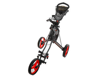 New Sun Mountain Speed Cart GX Push and Pull Cart Magnetic Gray/Red. Ships Today!