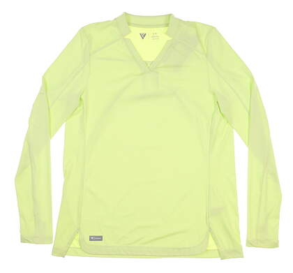 New Womens Level Wear Long Sleeve Mock Small S Green MSRP $45 BL15L