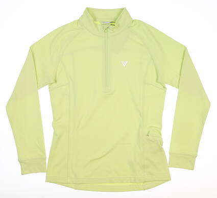 New Womens Level Wear 1/4 Zip Golf Pullover Small S Mint MSRP $65 JT07L