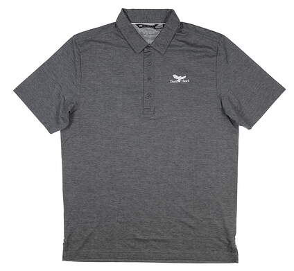 New W/ Logo Mens Travis Mathew The Ten Year Polo Large L Gray MSRP $95 1MM010