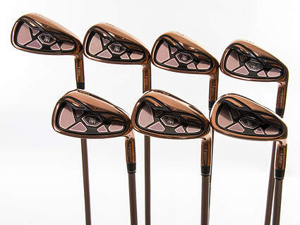 Mint Lynx Tigress Rose Gold Iron Set 5-PW SW Stock Graphite Shaft Graphite Ladies Right Handed 37.25in