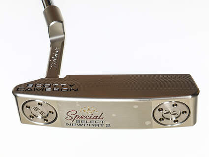 Mint Titleist Scotty Cameron Special Select Newport 2 Putter Left Handed 34.0in