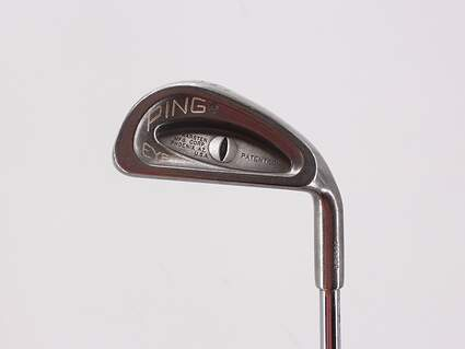 Ping Eye Single Iron 6 Iron Ping ZZ Lite Steel Stiff Right Handed Black Dot 37.0in