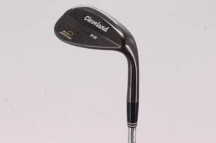 Cleveland CG15 Black Pearl Wedge Sand SW 56° 10 Deg Bounce Cleveland Traction Wedge Steel Wedge Flex Right Handed 35.75in