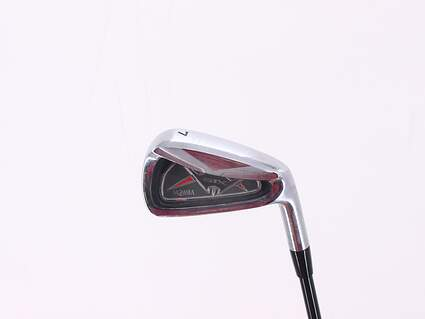 Honma G1X Single Iron 7 Iron Stock Graphite Shaft Graphite Regular Right Handed 37.5in
