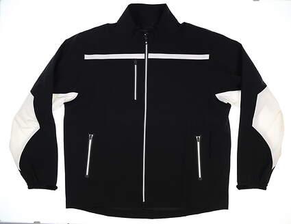 New Mens Footjoy Tour XP Rain Jacket XX-Large XXL Black MSRP $270 35268