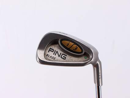 Ping i3 Blade Single Iron 8 Iron Ping JZ Steel Regular Right Handed Green Dot 36.5in
