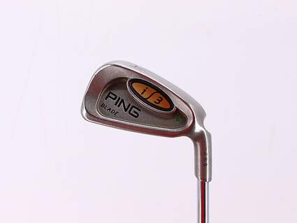 Ping i3 Blade Single Iron 4 Iron Ping JZ Steel Regular Right Handed Green Dot 38.5in