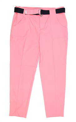 New Womens Jo Fit Pants 8 Pink MSRP $110