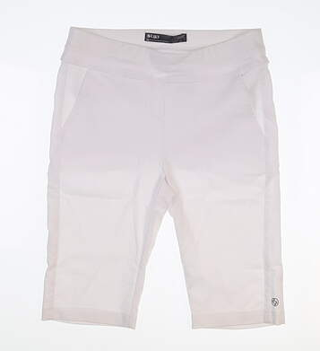 New Womens Lija Golf Shorts 6 White MSRP $125
