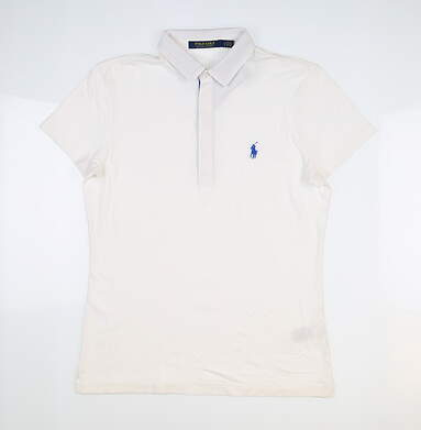 New Womens Ralph Lauren Golf Polo Small S White MSRP $99