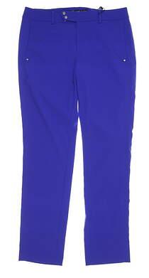 New Womens Ralph Lauren RLX Golf Pants 8 Royal MSRP $145