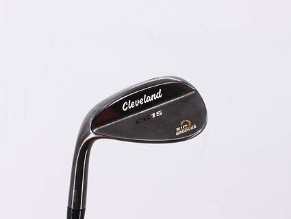 Cleveland CG15 Black Pearl Wedge Gap GW 50° 10 Deg Bounce Cleveland Traction Wedge Steel Wedge Flex Left Handed 36.0in