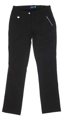 New Womens Daily Sports Golf Pants 10 Black MSRP $140 663/228