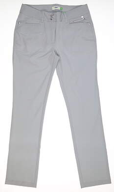 New Womens Daily Sports Golf Pants 10 Gray MSRP $130 643/220