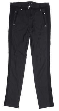 New Womens Daily Sports Cadri Pants 6 Black MSRP $150 763/209