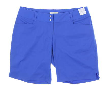 New Womens Adidas Golf Shorts 8 Blue MSRP $65 CY9502