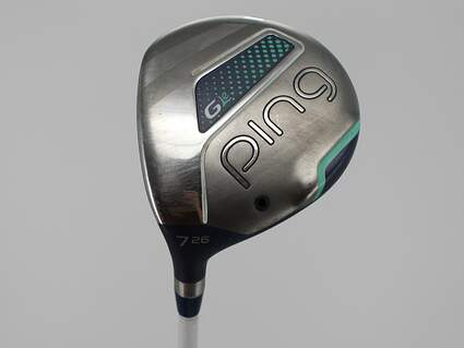 Ping G LE Fairway Wood 7 Wood 7W 26° ULT 230 Lite Graphite Ladies Left Handed 41.5in