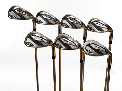 Mint Callaway Mavrik Iron Set 5-PW SW True Temper Elevate 95 Steel Stiff Right Handed 38.0in