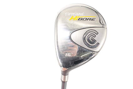 Cleveland Hibore Fairway Wood 3 Wood 3W 15° Cleveland Hibore Gold 60g Graphite Stiff Left Handed 43.25in