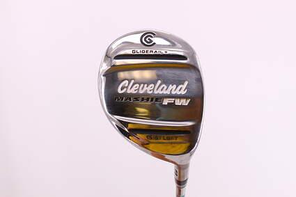 Cleveland Mashie Fairway Wood 3 Wood 3W 15.5° Miyazaki C.Kua 59 Fairway Graphite Regular Right Handed 43.0in