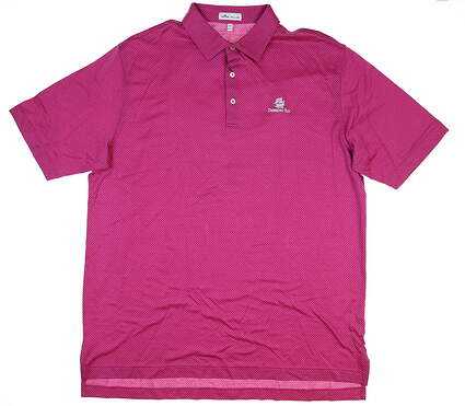 New W/ Logo Womens Peter Millar Golf Polo XX-Large XXL Pink MSRP $98 MF19K09S