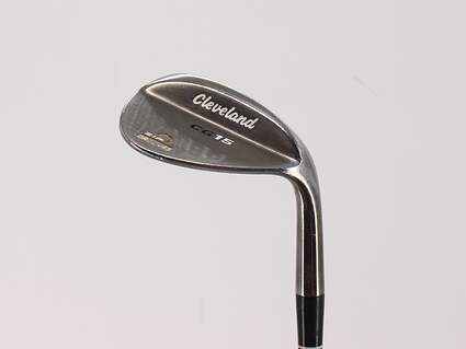 Cleveland CG15 Black Pearl Wedge Sand SW 56° 14 Deg Bounce Cleveland Traction Wedge Steel Wedge Flex Right Handed 36.5in