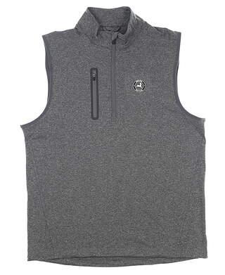 New W/ Logo Mens Level Wear Vest Medium M Gray MSRP $79 PS54L