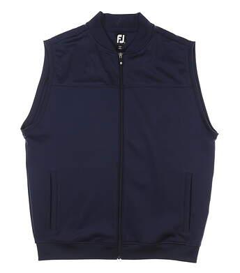 New Mens Footjoy Golf Vest Large L Navy Blue MSRP $75 25013