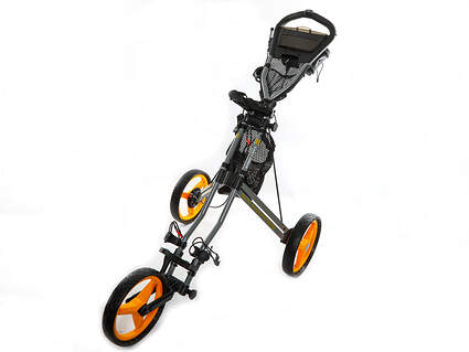New Sun Mountain Speed Cart GX Push and Pull Cart Steel/Yellow Ships Today!
