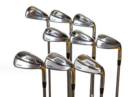 Titleist 716 T-MB Iron Set 3-PW GW Aerotech SteelFiber i80 Graphite Regular Right Handed 37.75in