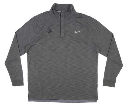 New W/ Logo Mens Nike Golf Pullover X-Large XL Gray MSRP $90 727098