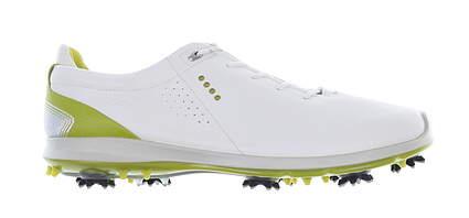 New W/O Box Mens Golf Shoe Ecco BIOM G2 Flex 46 (12-12.5) White MSRP $260