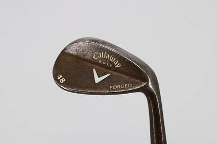 Callaway Forged + Vintage Wedge Pitching Wedge PW 48° Callaway Stock Steel Steel Wedge Flex Right Handed 35.5in