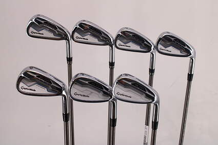 TaylorMade SLDR Iron Set 5-PW GW Aerotech SteelFiber i95 Graphite Regular Right Handed 38.75in