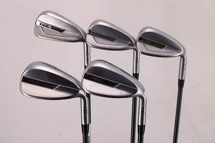 Ping G700 Iron Set 7-PW GW Ping TFC 80i Graphite Senior Right Handed Black Dot 37.5in