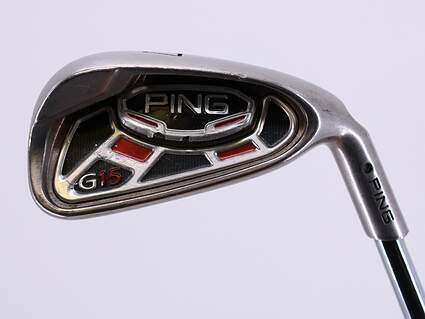 Ping G15 Single Iron 7 Iron AWT 2.0 Steel Stiff Right Handed Black Dot 36.75in