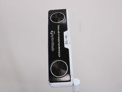 Tour Issue TaylorMade White Smoke IN12 Putter Steel Right Handed 35.0in