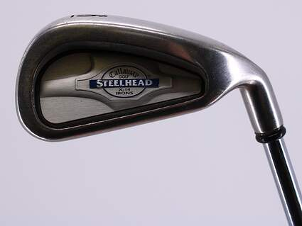 Callaway X-14 Single Iron 6 Iron Callaway Stock Steel Steel Stiff Right Handed 37.5in