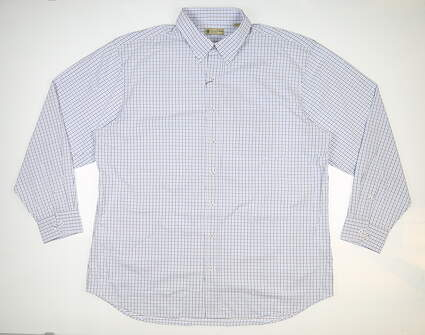 New Mens DONALD ROSS Button Up X-Large XL Multi MSRP $145 DR630