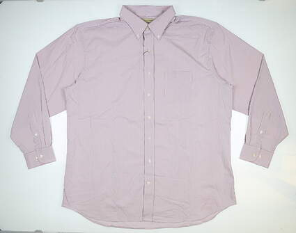 New Mens DONALD ROSS Button Up X-Large XL Multi MSRP $145 DR612