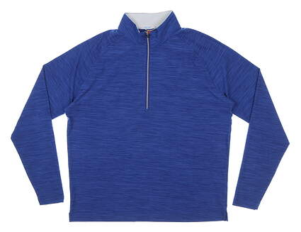 New Mens DONALD ROSS 1/4 Zip Golf Pullover Small S Blue MSRP $145 SP500