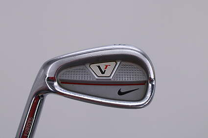 Nike Victory Red Split Cavity Single Iron 8 Iron True Temper Dynamic Gold R300 Steel Regular Left Handed 36.75in