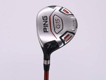 Ping G15 Fairway Wood 7 Wood 7W 21.5° Ping TFC 149F Graphite Senior Left Handed 41.0in