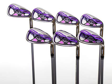 Mint Lynx Tigress Purple Satin Iron Set 5-PW SW Stock Graphite Shaft Graphite Ladies Right Handed 37.25in